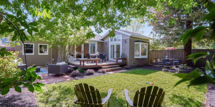 SOLD! 4 Oxford Ave, Mill Valley • Coveted Sycamore Park